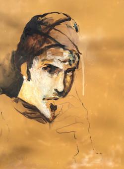 Self Portrait (The Sideways Glance)