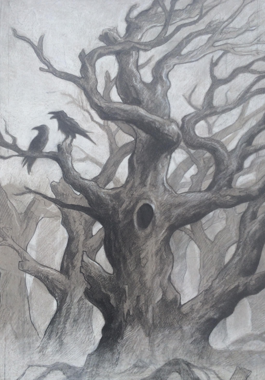 A Conversation Between Crows