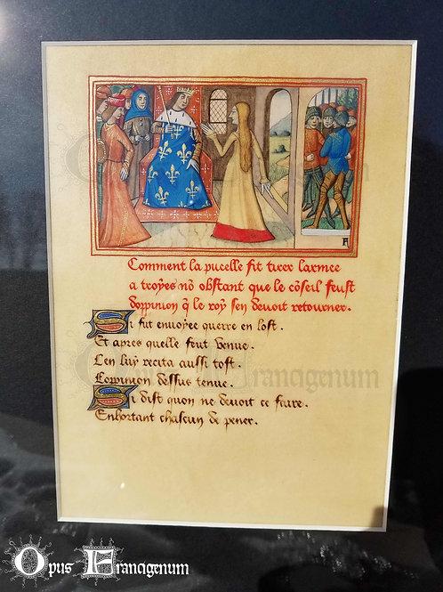 Jeanne d'Arc devant leRoy Charles