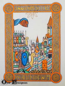 Les viking à Rouen 841