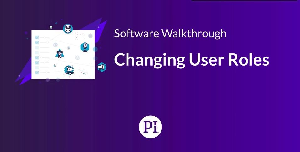 Changer le rôle d'un utilisateur