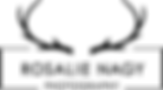 Rosalie Photography Logo 2017 schwarz.pn