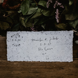 Svatební oznámení ruční papír
