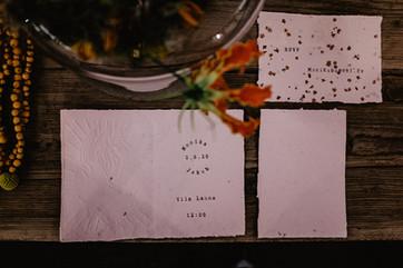 Analogové svatební oznámení II