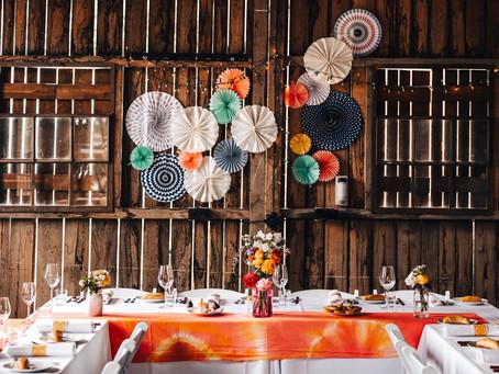 Svatba v barvách Mexika