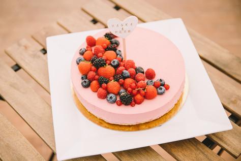 Cake topper - porcelán
