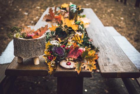 Podzimní svatba pro dva