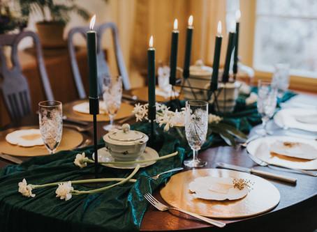 Intimní svatba ve stylu Art Deco