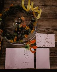 Analogové svatební oznámení