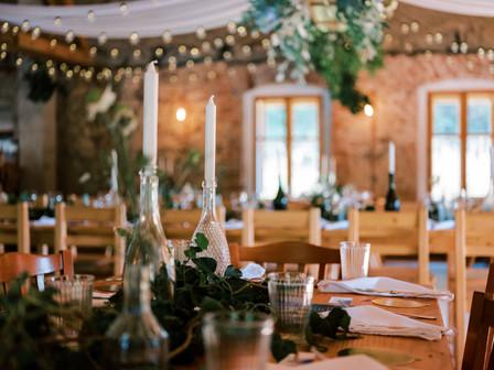 Netradiční svatební dekorace
