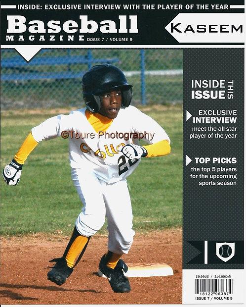 8X10 Magazine Cover (Baseball)