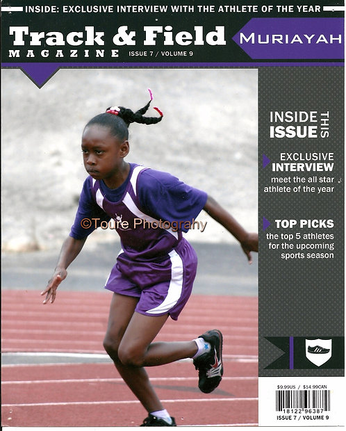 8X10 Magazine Covers (Track & Field)
