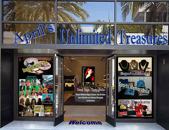 April' Unlimited Treasures
