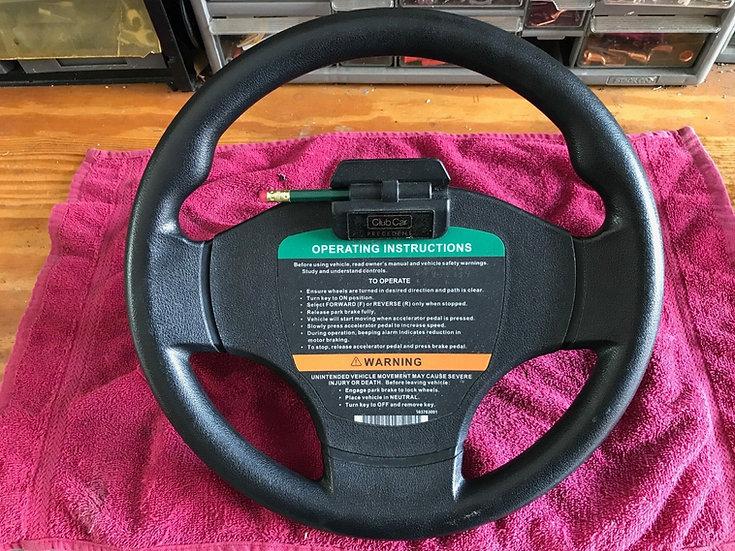 Club Car Precedent Steering Wheel (used)