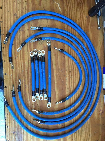 EZGO TXT PDS full cable kit 2awg