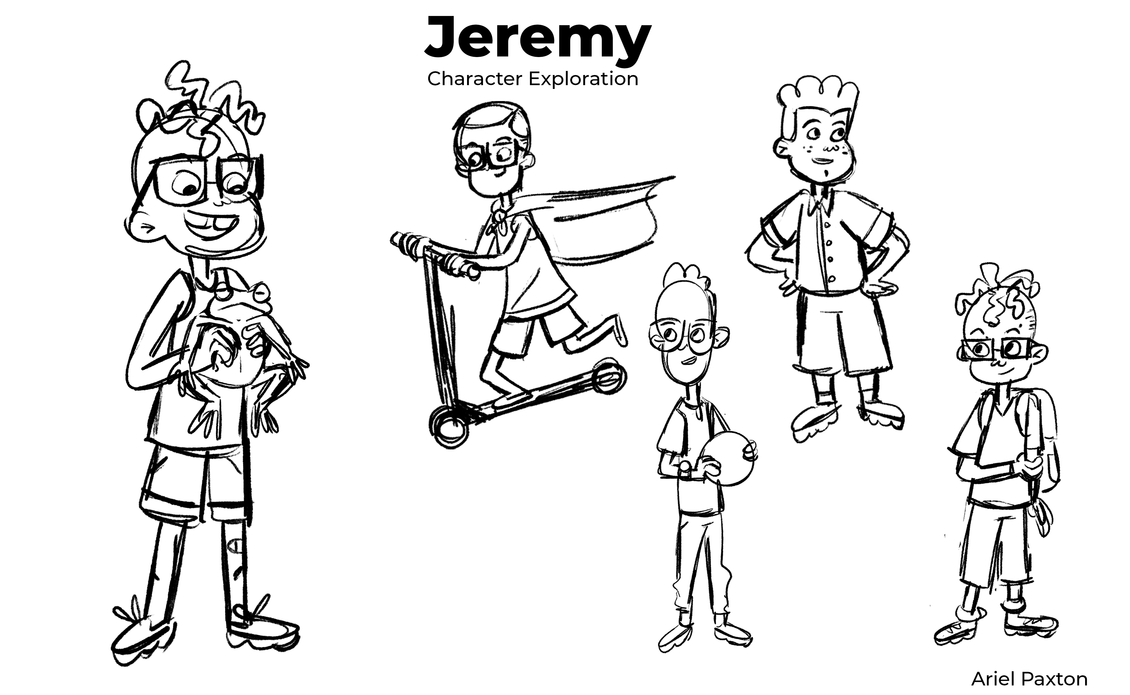 Jeremy Rough Character Design