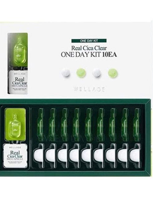Wellage Cica Clear 1 Day Kit (10 pack)