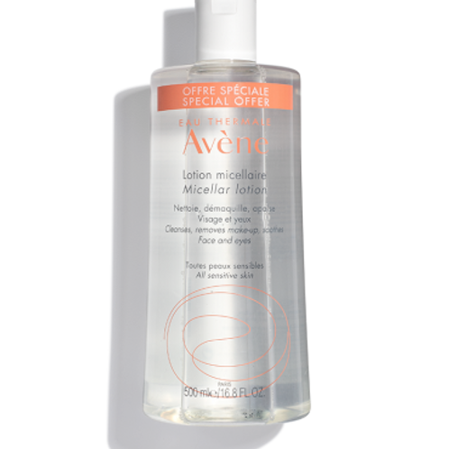 Avéne Micellar Lotion Cleanser and Make-up Remover: 500mL