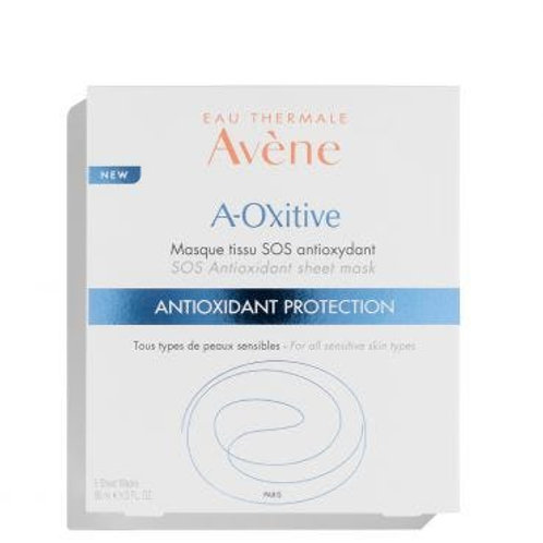 Avéne A-OXitive SOS Antioxidant Sheet Mask