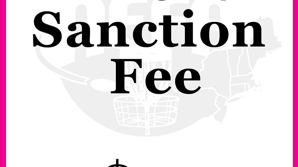 Pay Your Sanction Fee