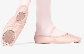 adult cotton split sole ballet shoe.PNG