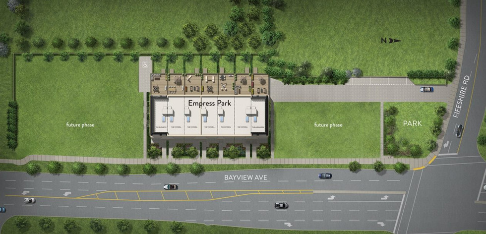 Project Site Plan Phase 1