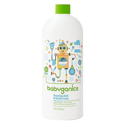 BabyGanics 有機奶瓶清潔液 946ml 補充裝