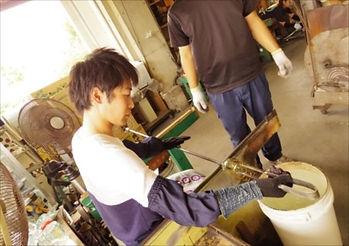 ガラス工芸の教室を北陸で開く【Glass brand OR】
