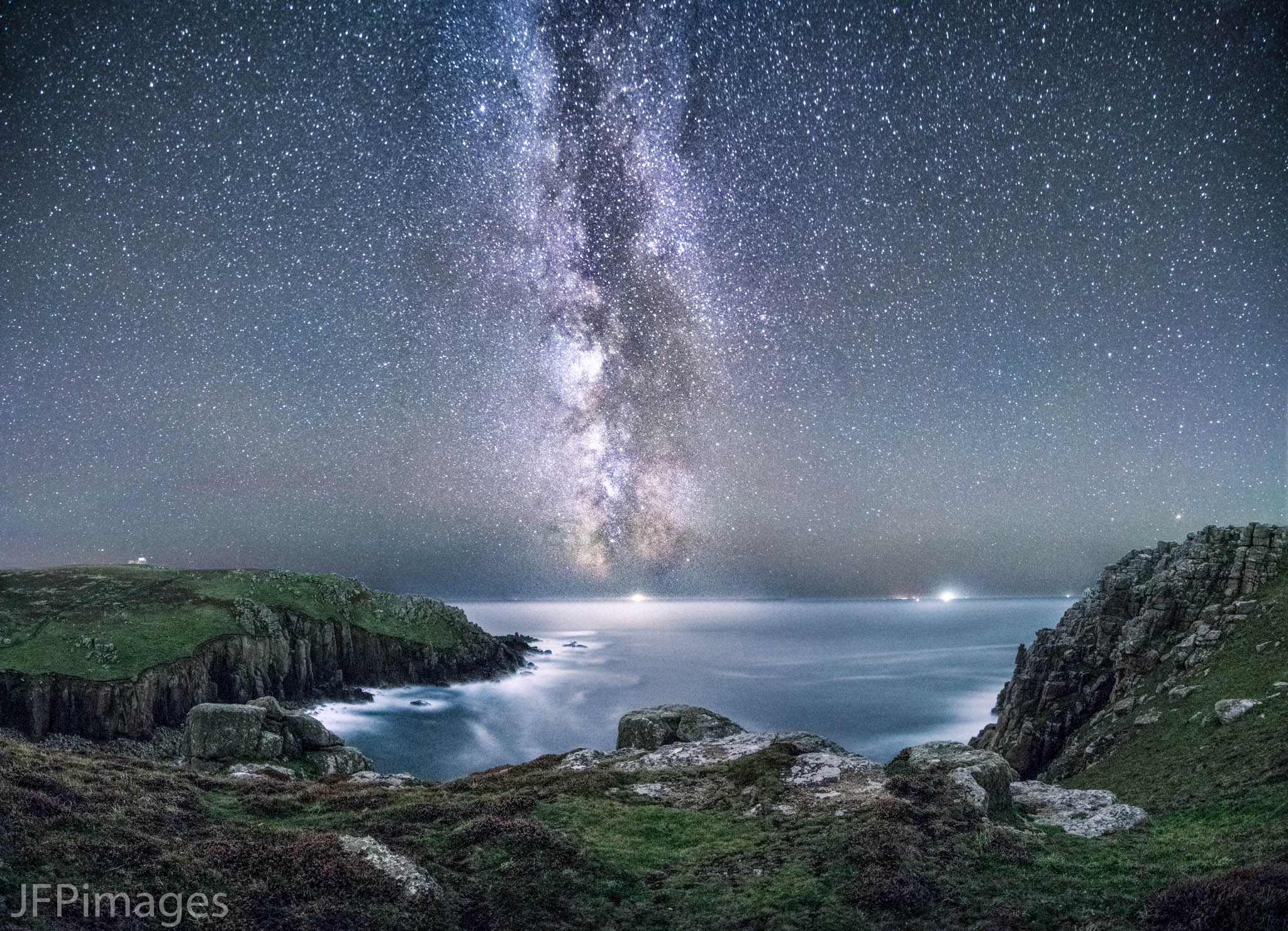 The Milky Way above Gwenap Head