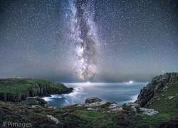 The Milky Way above Gwenap Head