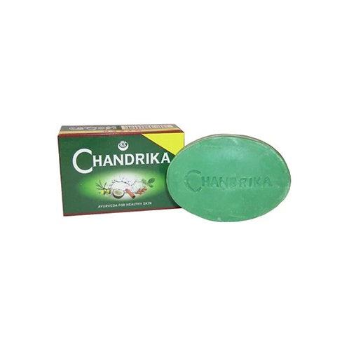 סבון מוצק איורוודי- צנדריקה ירוק