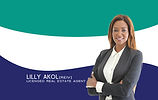 Lilly Akol Business Cards 90x55 Front Au