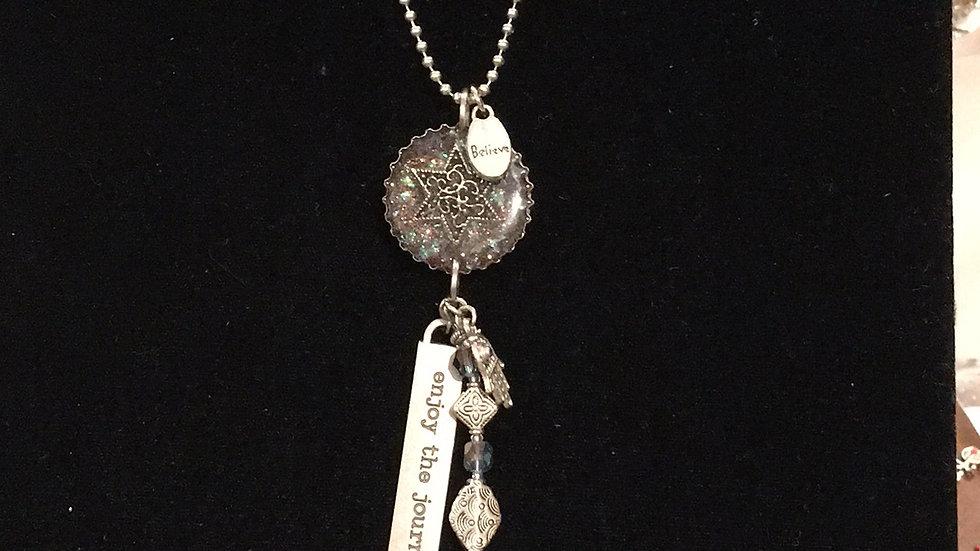 Jewish Star with Hanging Jewelry
