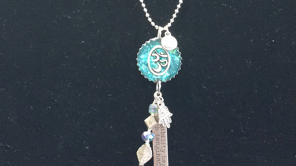 Ohm with Hanging Jewelry
