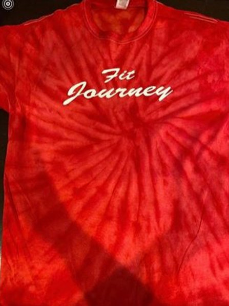 red fit journey t-shirt
