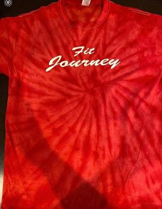 ruby red tie die collection $25.00