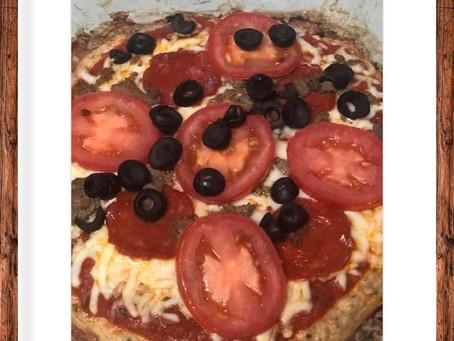 Chicken Crust Pizza