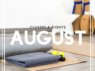 What's happening| AUGUST