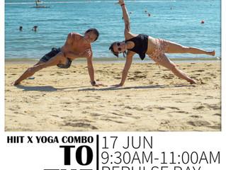 Beach Combo | HIIT x Yoga