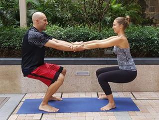 Partner Yoga with Tina