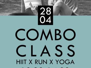 Combo Class | HIIT x Run x Yoga