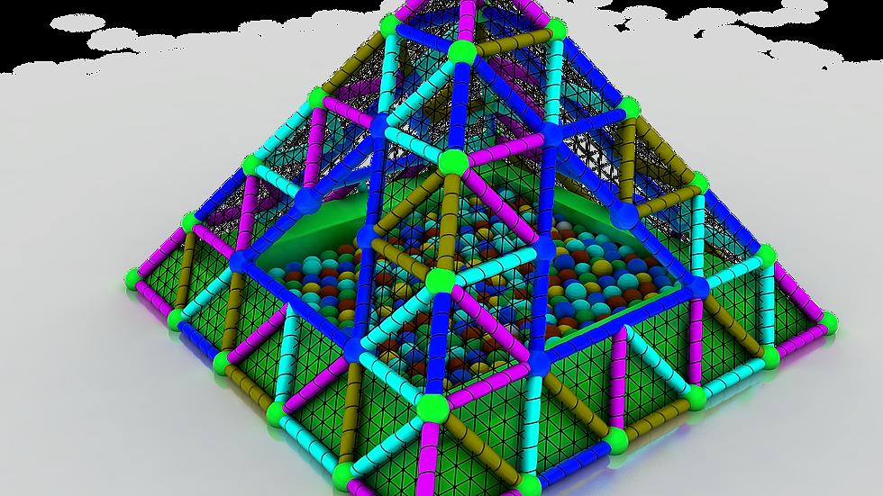 TH-329 Piramit Top Havuzu