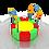 Thumbnail: TR-207  80cm Tutamaklı Mini Zemin Trambolin
