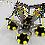 Thumbnail: TR-708 4'lü Şişme Salto Trambolin