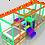 Thumbnail: TH-318 Soft Merdivenli Top Havuzu