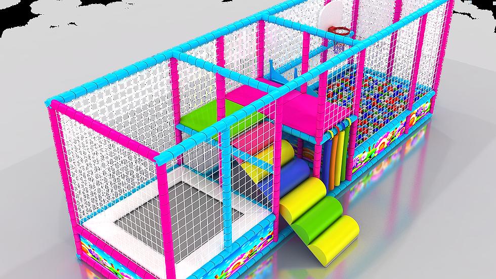 TH-318 Soft Merdivenli Top Havuzu