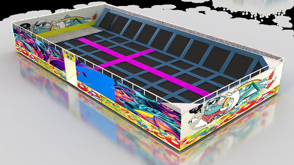 TR-804 Maxi Trambolin Arena