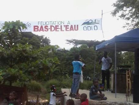 Bas-de-l'eau Quartier de l'annee, Odid 2018