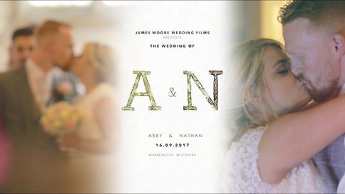 Wiltshire Wedding Film