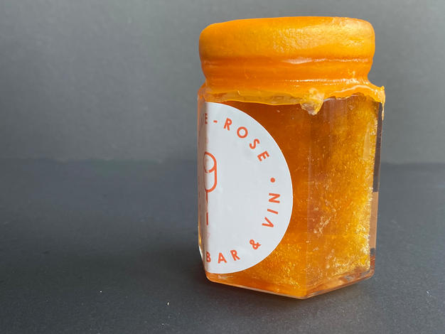 Marmelade aux yuzus OREGON x O'CITRUS
